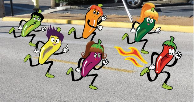 Chili Chase 5K Run/Walk & Kids Pepper Dash Registration Now Open