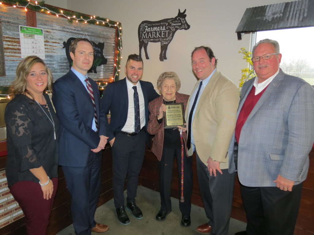 The Callison Family with Breakthru Beverage Received December