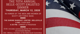 Belle-Scott 70th Anniversary Enlisted Dinner