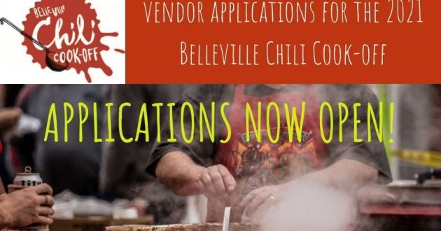 Be a vendor at the 2021 Belleville Chili Cook-off